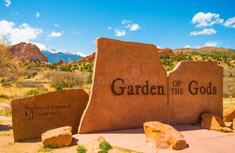 парк богов сада стоковое изображение
