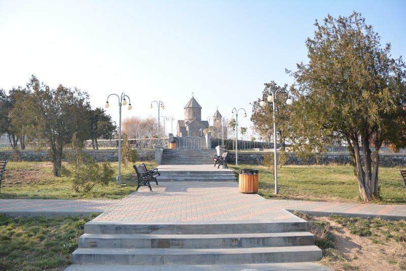 Парк в Ереване стоковая фотография rf