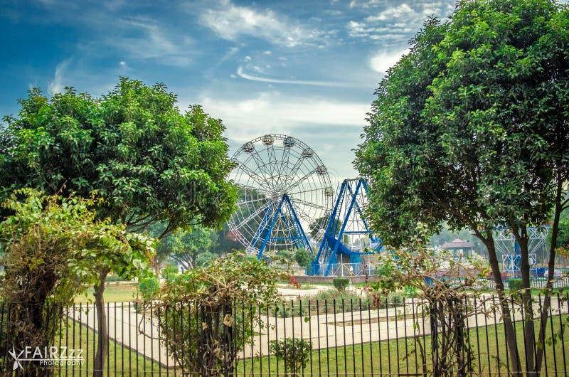 Парк в mbdin стоковое изображение rf