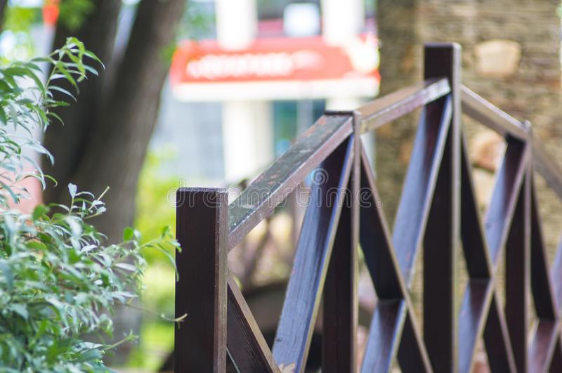 Парк города весны стоковые изображения