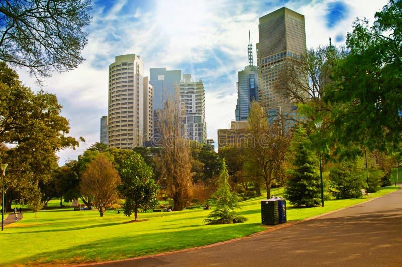 Парк города стоковое изображение