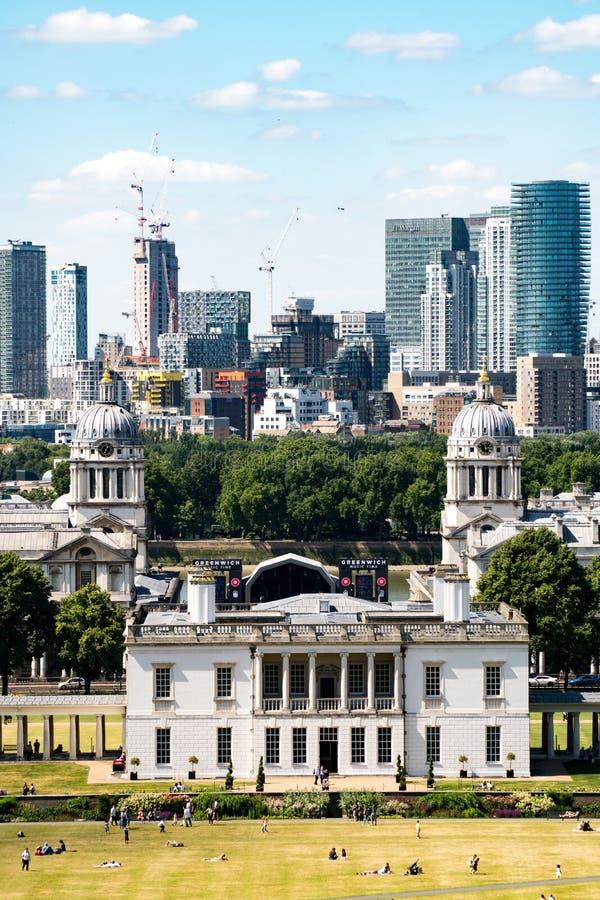 Парк Гринвича в Лондоне стоковые изображения rf