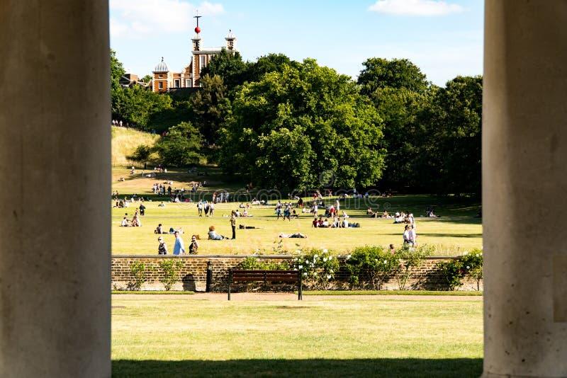Парк Гринвича в Лондоне стоковые фото