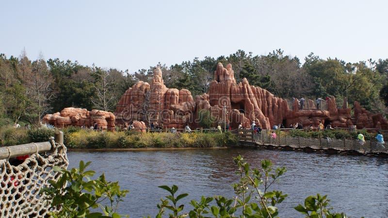 Парк Диснейленда токио стоковое изображение rf