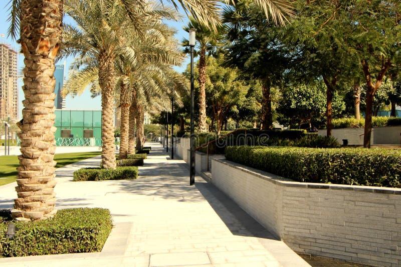 Парк Доха Sheraton стоковая фотография rf