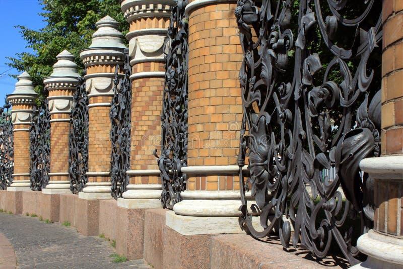 парк загородки стоковая фотография