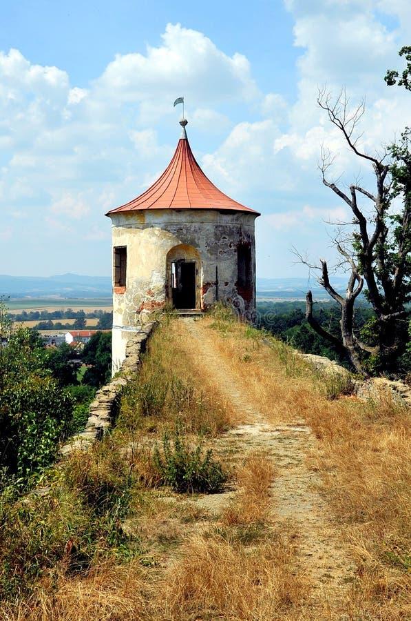Парк замка на Horsovsky Tyn, чехии стоковое фото