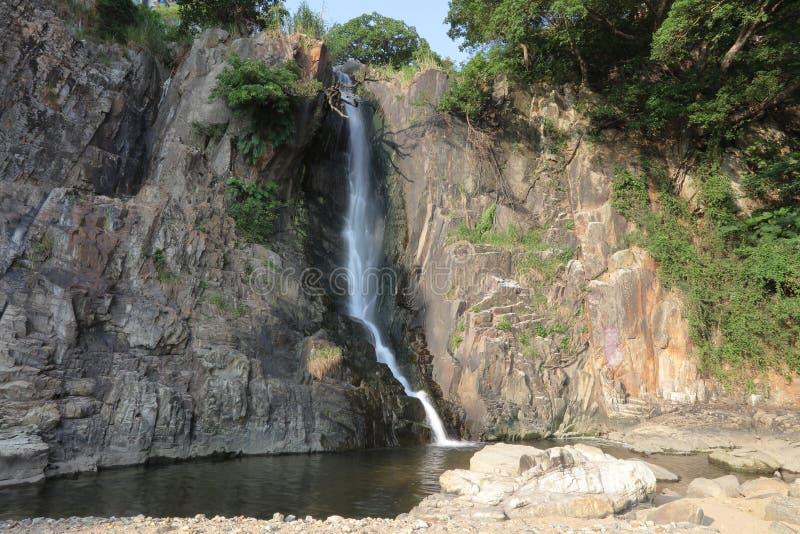 Парк залива водопада, hk стоковые изображения rf