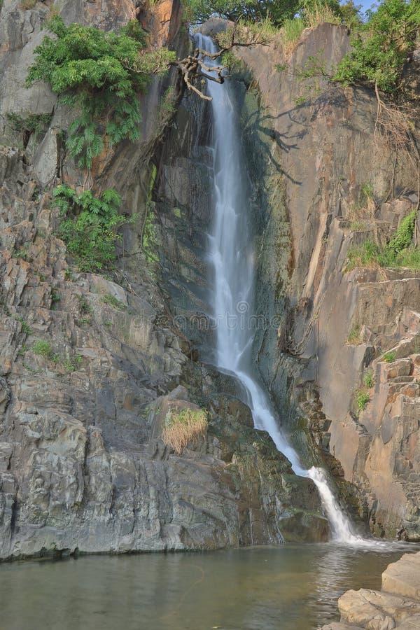 Парк залива водопада, hk стоковое фото