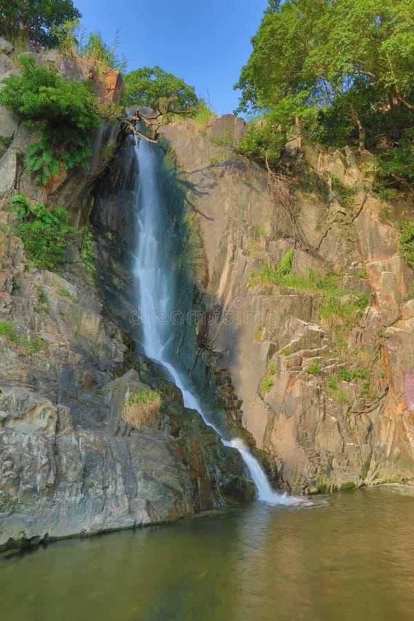 Парк залива водопада, hk стоковая фотография rf