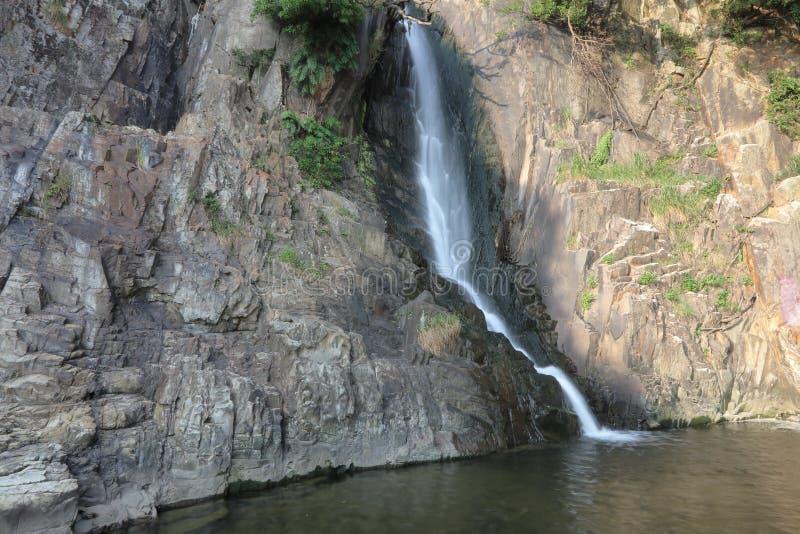 Парк залива водопада, hk стоковые изображения