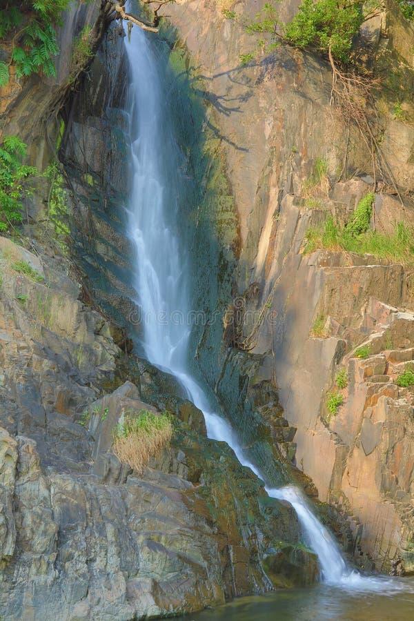 Парк залива водопада, hk стоковое изображение