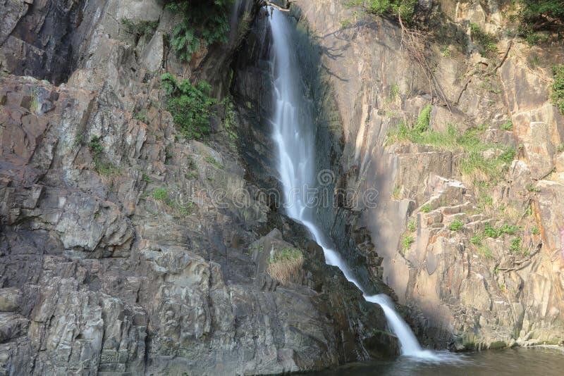 Парк залива водопада, hk стоковые фотографии rf