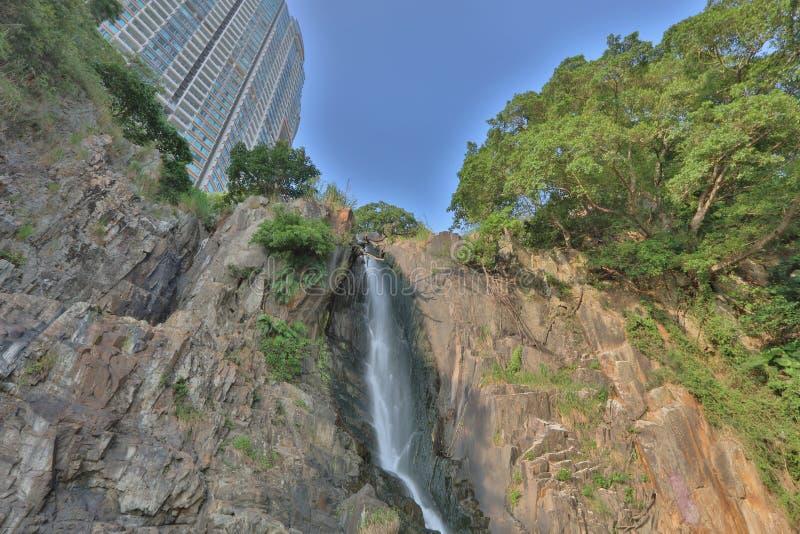 Парк залива водопада, hk стоковая фотография