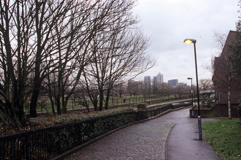 Парк конца мили, Лондон стоковое фото