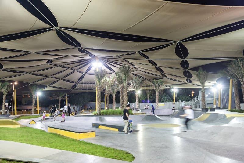 Парк конька XDubai стоковые фото
