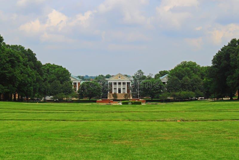 Парк коллежа университета Мерилендаа стоковое изображение rf