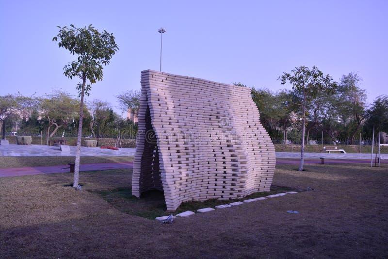 Парк Кувейт Shaheed Al стоковая фотография rf
