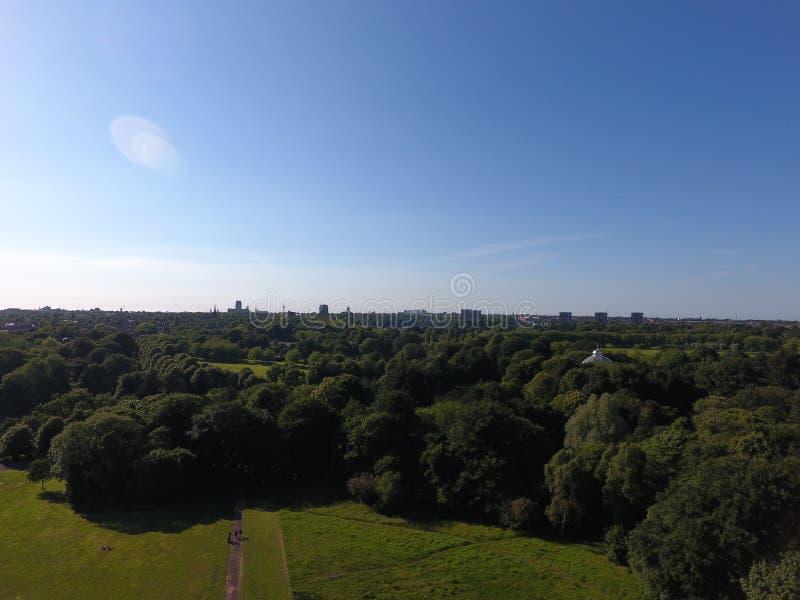 Парк Ливерпуля Sefton стоковая фотография rf