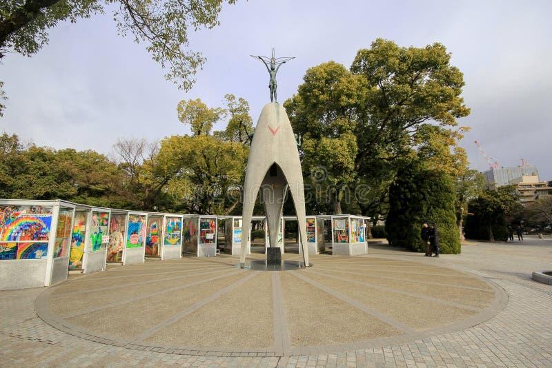 Парк мира Хиросимы мемориальный, Япония стоковое фото