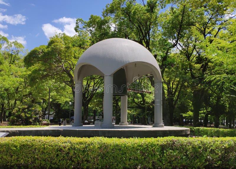 Парк мира ` s Хиросимы мемориальный стоковое фото