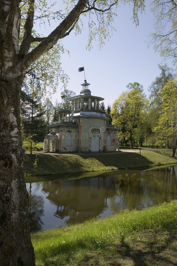 парк молельни ekaterinensky стоковые фотографии rf
