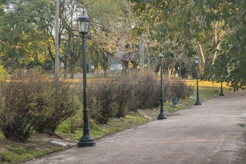 Парк Монтевидео Уругвай Parque Rodo стоковая фотография rf
