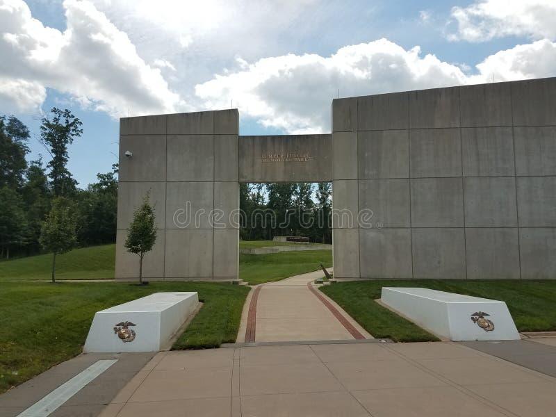 Парк морских пехотинцов мемориальный стоковые фото