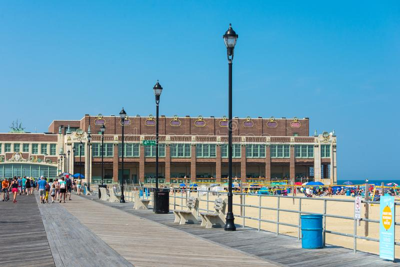 Парк Нью-Джерси Asbury стоковое изображение rf