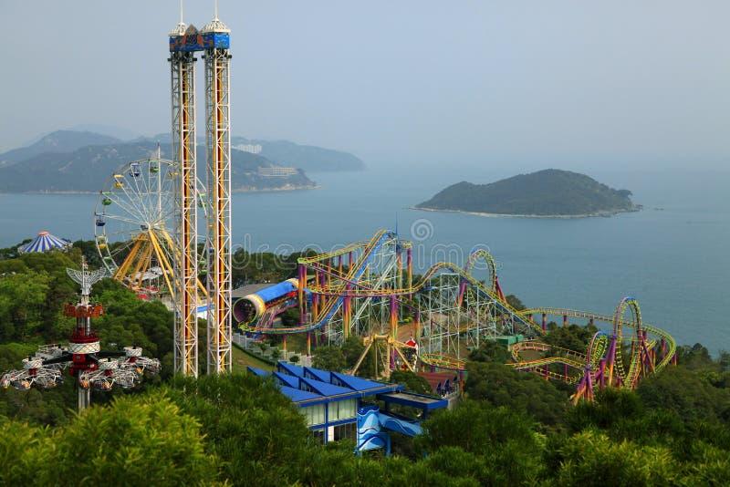 парк океана Hong Kong стоковые фотографии rf