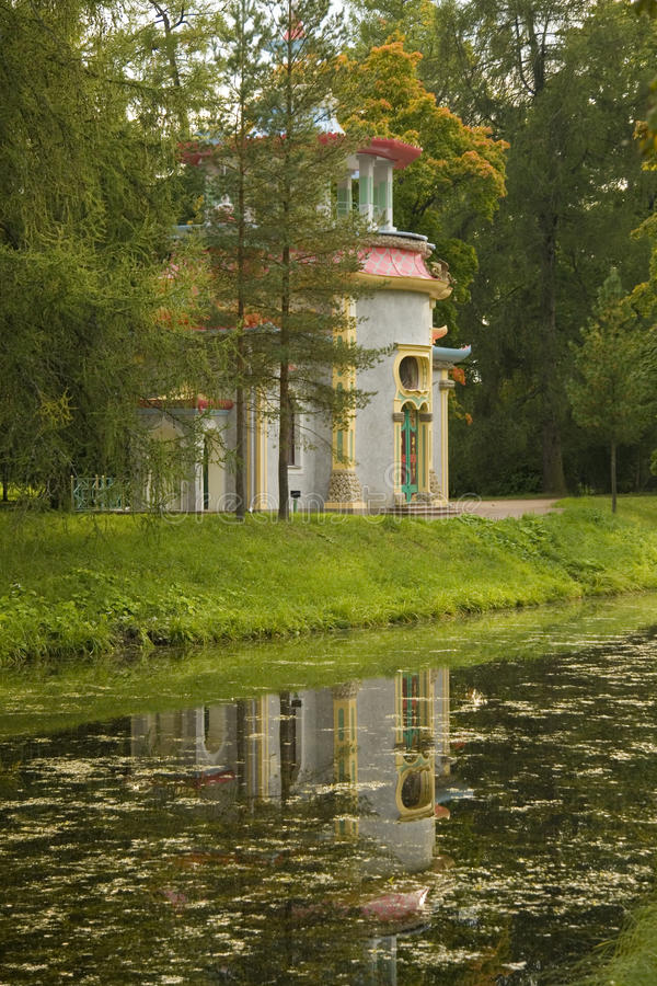 парк осени стоковое фото rf