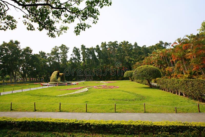 Парк официальной резиденции Shilin стоковая фотография rf