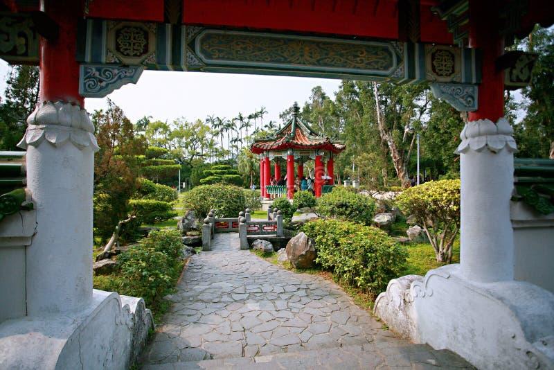 Парк официальной резиденции Shilin стоковые изображения rf