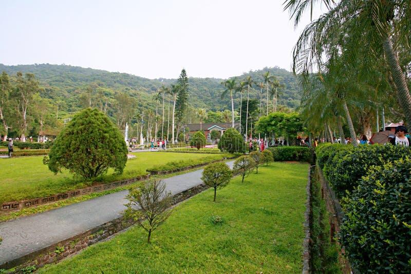Парк официальной резиденции Shilin стоковое фото