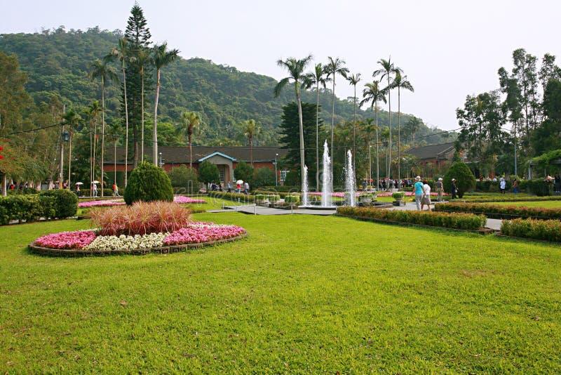 Парк официальной резиденции Shilin стоковое фото rf
