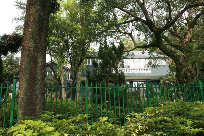 Парк официальной резиденции Shilin стоковые фото