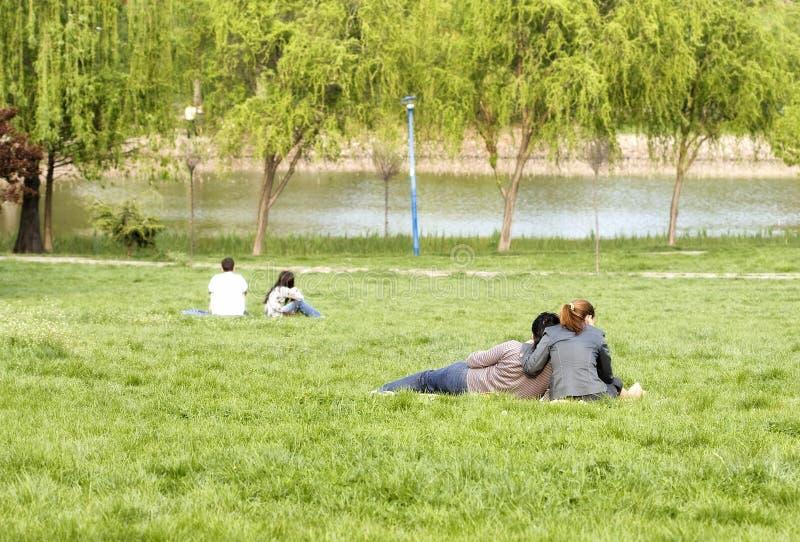 парк пар стоковая фотография