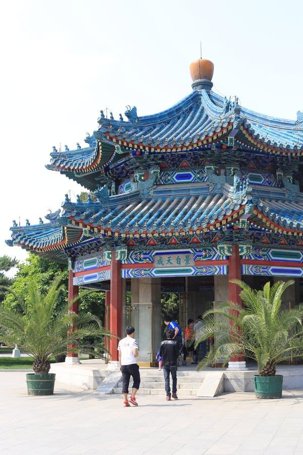 Парк Пекина ZhongShan стоковое фото