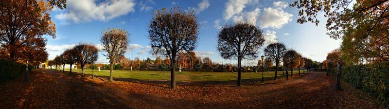 парк переулка стоковая фотография rf