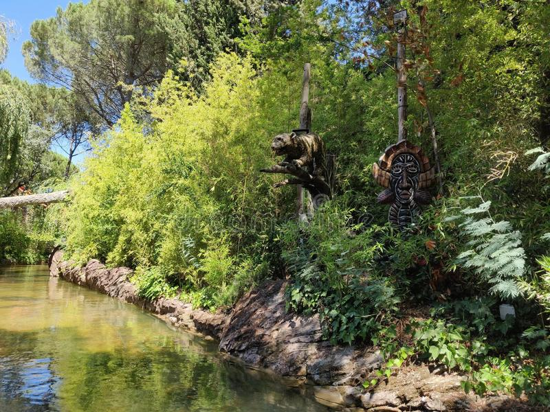 Парк привлекательностей Warner стоковые фотографии rf