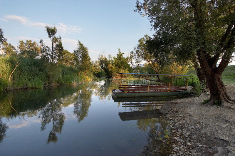 парк природы hutovo blato стоковое изображение