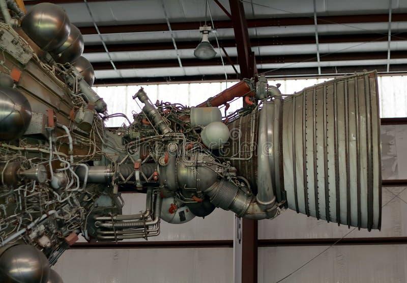 Парк ракеты в Lyndon b Космический центр Джонсона в Хьюстон, Техасе стоковое фото
