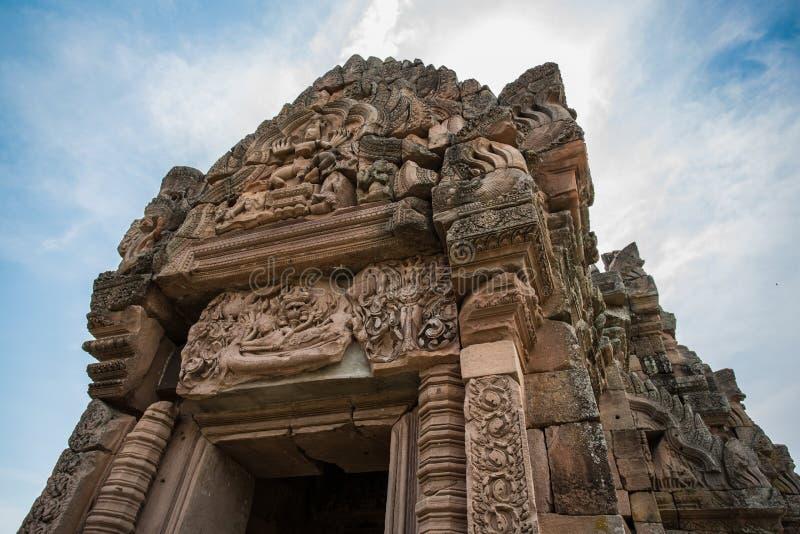 Парк ранга Prasat Phanom исторический стоковое изображение rf