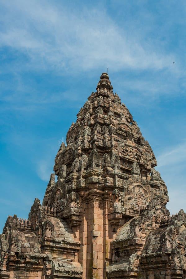 Парк ранга Prasat Phanom исторический стоковое фото