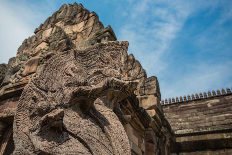 Парк ранга Prasat Phanom исторический стоковые фото
