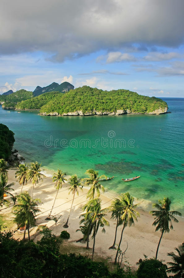 Парк ремня Ang национальный морской, Таиланд стоковая фотография rf