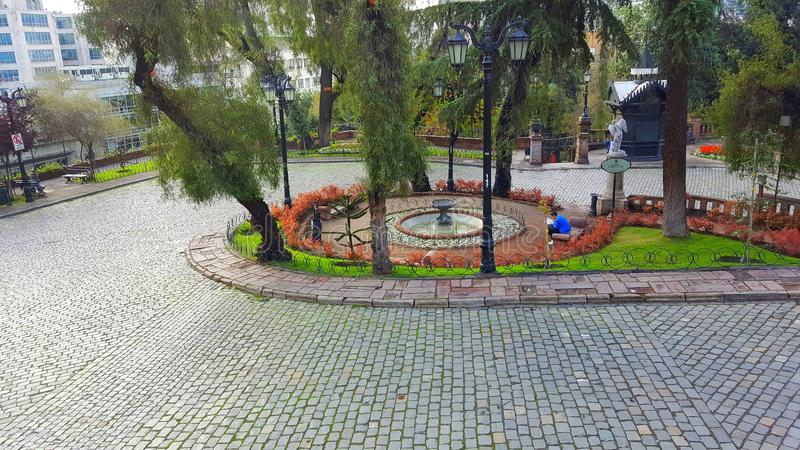 Парк Сантьяго стоковое фото