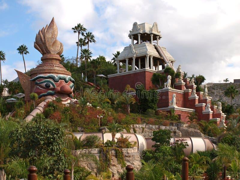 парк Сиам tenerife стоковые изображения rf