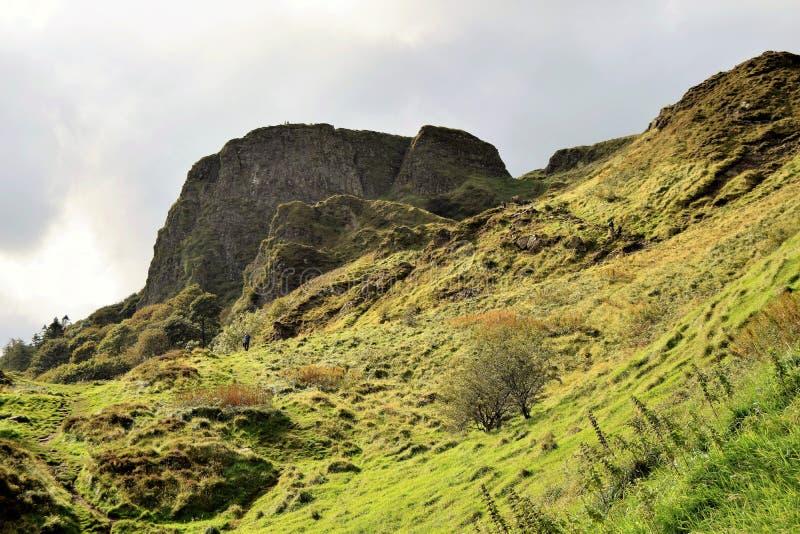 Парк страны холма пещеры Белфаста - Северная Ирландия стоковые фотографии rf