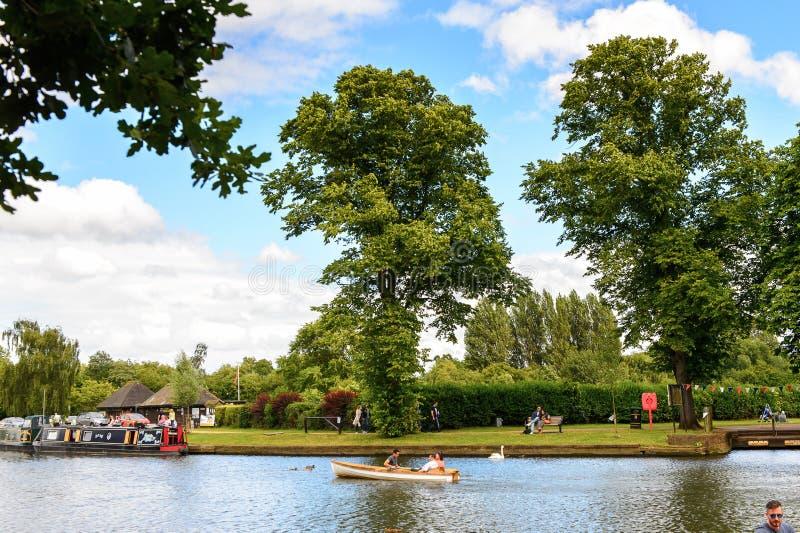 Парк Стратфорда на Эвоне, Англия, Великобритания стоковые изображения rf